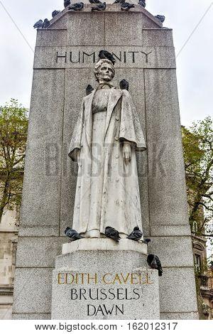 Edith Cavell Monument - London