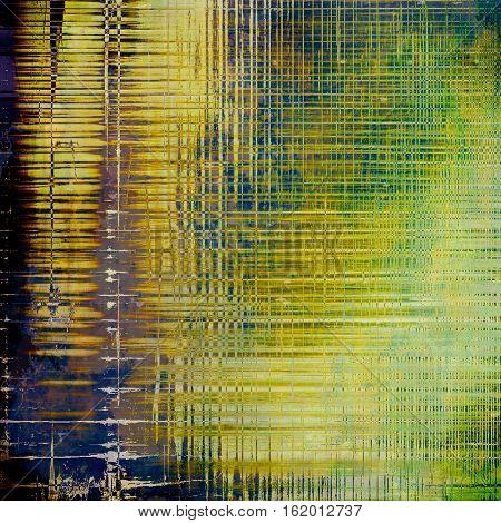Elegant vintage background, antique texture. Designed grunge template with different color patterns: yellow (beige); brown; green; blue; purple (violet); black