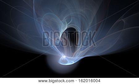 Lite light explosion abstract background in dark