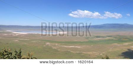 Ngorongoro Crater, Serengeti Park, Tanzania, Panorama