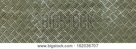 Silver Metallic Oxide Rhombus Shapes Pattern