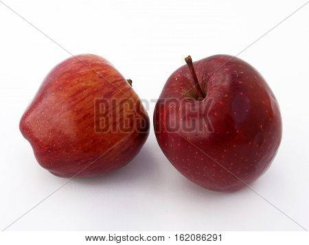 Newest and most beautiful red apple pictures