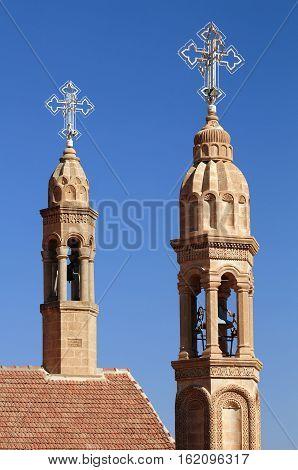 Mor Gabriel Monastery, Tur Abdin, Near Midyat, Mardin Province, Turkey