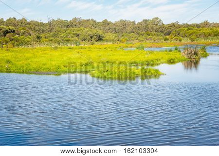 Lake in a Yanchep National Park .