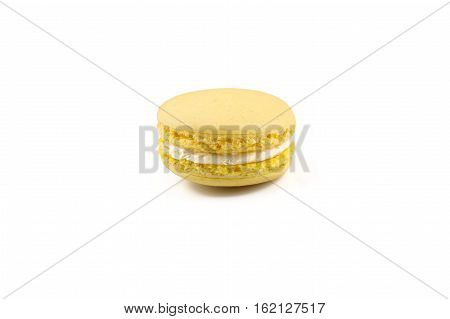 Macaroon Isolated On A White