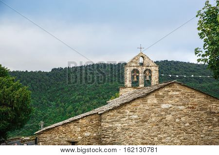 Architectural elements in Spain on camino de santiago
