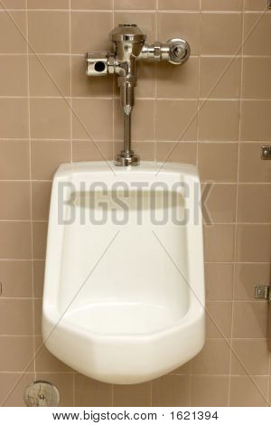 Public Restroom Urinal