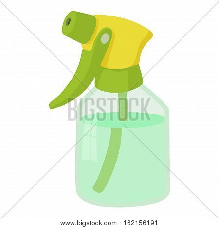 Sprayer bottle icon. Cartoon illustration of sprayer bottle vector icon for web design
