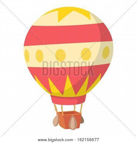 Baloon icon. Cartoon illustration of baloon vector icon for web design