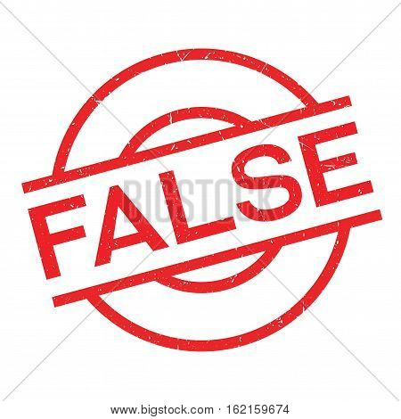 False rubber stamp. Grunge design with dust scratches. Effects can be easily removed for a clean, crisp look. Color is easily changed.