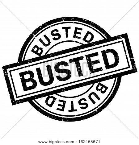 Busted rubber stamp. Grunge design with dust scratches. Effects can be easily removed for a clean, crisp look. Color is easily changed.