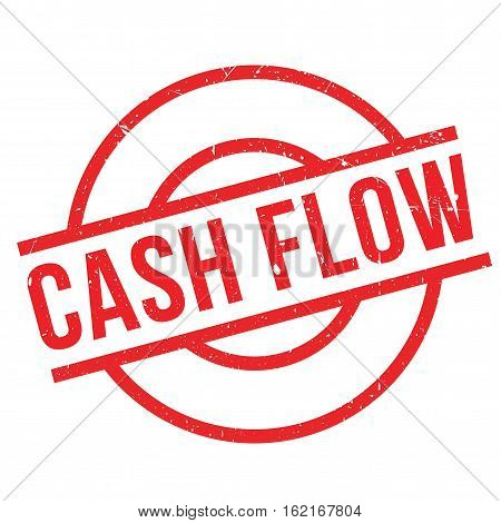 Cash Flow rubber stamp. Grunge design with dust scratches. Effects can be easily removed for a clean, crisp look. Color is easily changed.