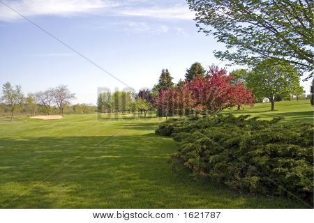 Landscaped Golf Course