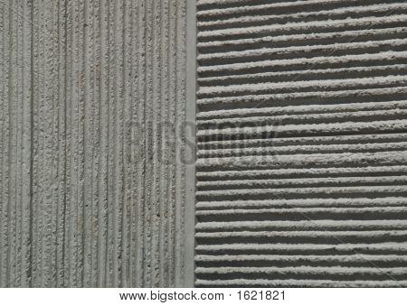 Concrete Grid Vert And Horiz