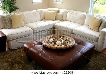 Sea Side Cottage Living Room