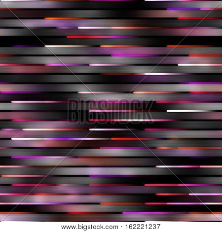 Gradient pink Neon Motion Lines. Abstract Geometric Background Design. Seamless Multicolor Pattern