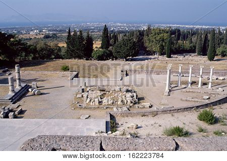Shrine Of Asklepieion On Kos Island, Greece