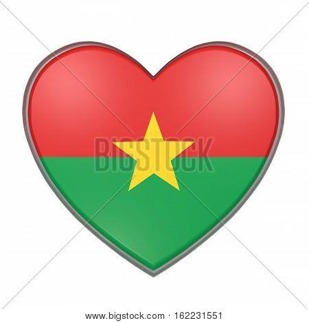 Burkina Faso Heart