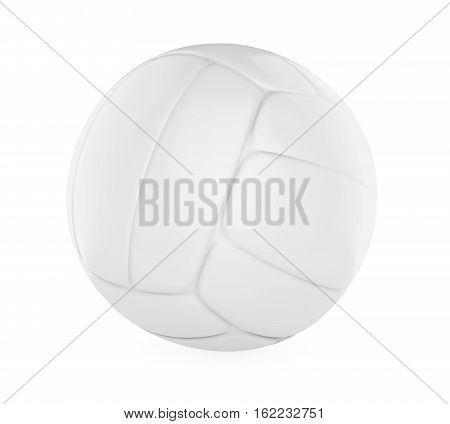 Volley Ball isolated on white background. 3D render