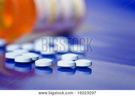 Flasche Pillen