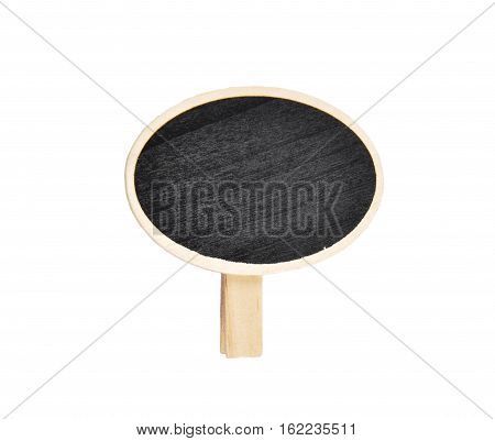 Colorful and crisp image of wooden plate with leg