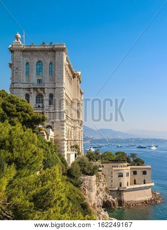 Monaco And Monte Carlo Principality, Sea View