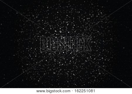 Abstract shimmering background.Stellar design.Space background.Vector.Flickering background with place for your text