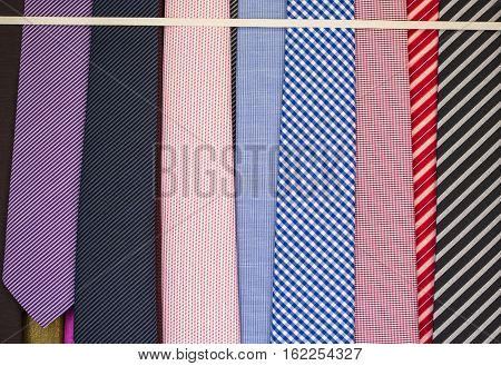 Neckties For Sale At Store
