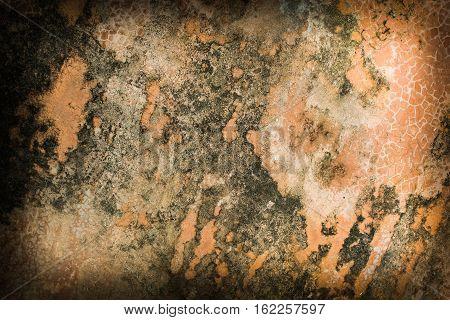 beautiful brown background with elegant dark brown vintage grunge background