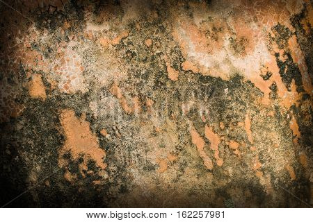 beautiful brown background with elegant dark brown vintage grunge background