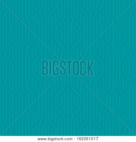 Stpiped wavy pattern. Turquoise Neutral geometric seamless patterns for web design. Monochromatic colors tileable vector background.