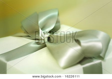 Gift box and wrapping paper