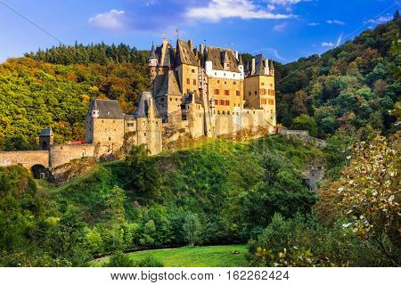 Burg Eltz - one of the most beautiful medieval castles of Europe