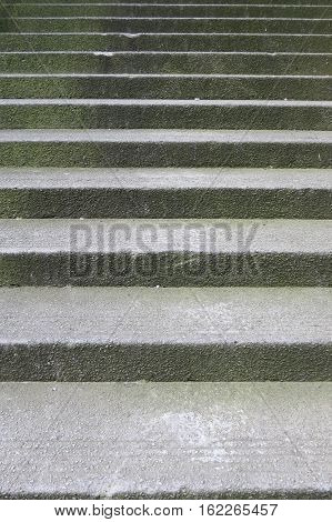 Stone Stairway Perspective
