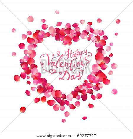Happy Valentine's Day Vector Card