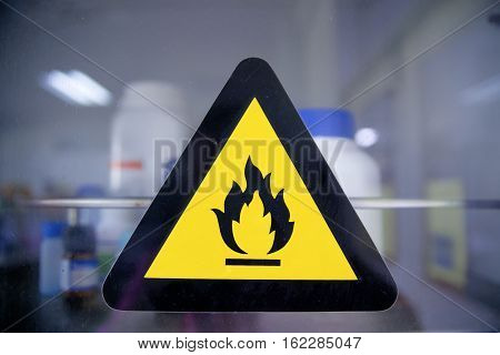 The Hazard symbols for chemicals are pictograms defined by the European community for labeling chemical packagings (for storage and workplace) and containers (for transportation). They are standardized currently by the CLP/GHS classification.