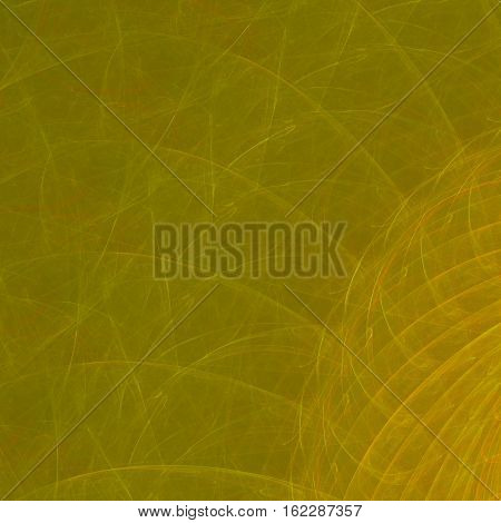 Gold orange ocher yellow fractal web texture irregular background