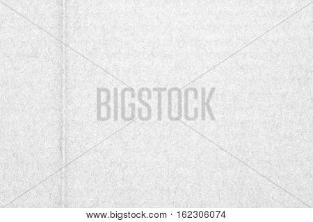 White Cardboard Background
