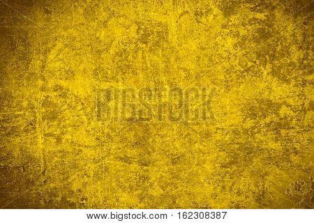 Yellow Steel Plate Texture