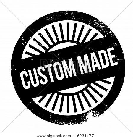 Custom made stamp. Grunge design with dust scratches. Effects can be easily removed for a clean, crisp look. Color is easily changed.