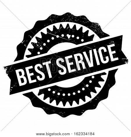 Best service stamp. Grunge design with dust scratches. Effects can be easily removed for a clean, crisp look. Color is easily changed.