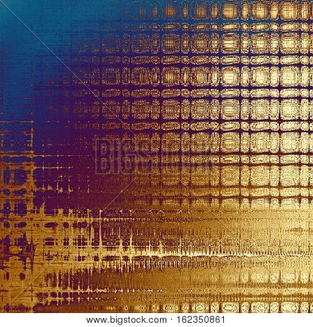 Grunge background or vintage texture in traditional retro style. With different color patterns: yellow (beige); brown; blue; red (orange); purple (violet); pink