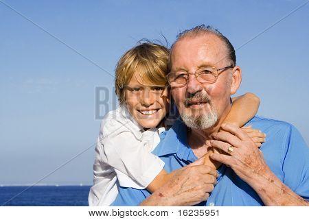 grandad and grandson