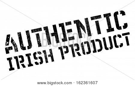 Authentic irish product stamp. Grunge design with dust scratches. Effects can be easily removed for a clean, crisp look. Color is easily changed.