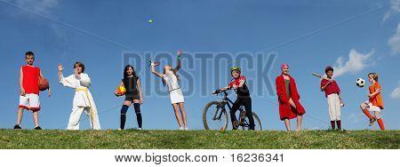 kids summer sports