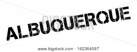 Albuquerque rubber stamp. Grunge design with dust scratches. Effects can be easily removed for a clean, crisp look. Color is easily changed.