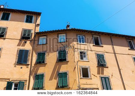 Old Buildings In Lucca, Italy