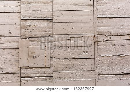 background picture of white painted wooden planks