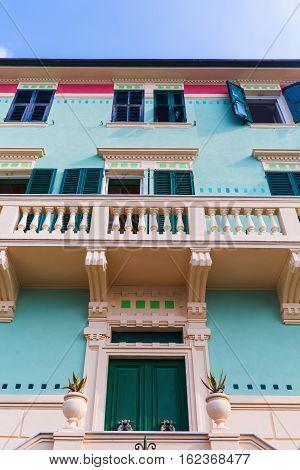 Picturesque Building In Monterosso Al Mare
