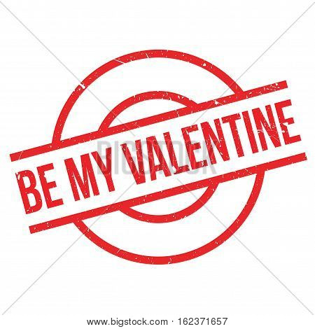 Be My Valentine rubber stamp. Grunge design with dust scratches. Effects can be easily removed for a clean, crisp look. Color is easily changed.